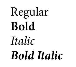 A Brief Lesson In Typefaces